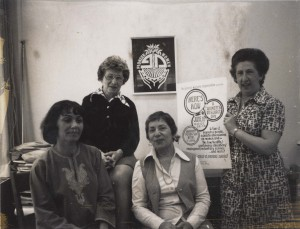 Cissie Eppel (on far right), with other members of Pioneer Women, (L.12607).