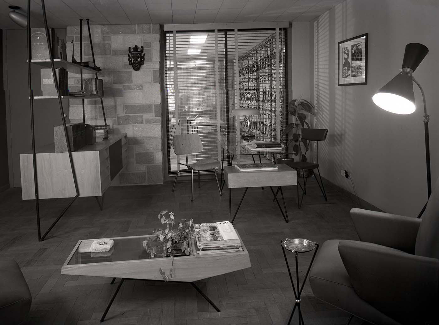 Unidentified Interior, Photo by Fred Schiffer, 1967.