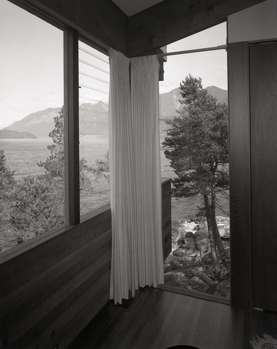 Views from the Anton Residence (Erickson and Massey), Photo by Fred Schiffer, 1967.