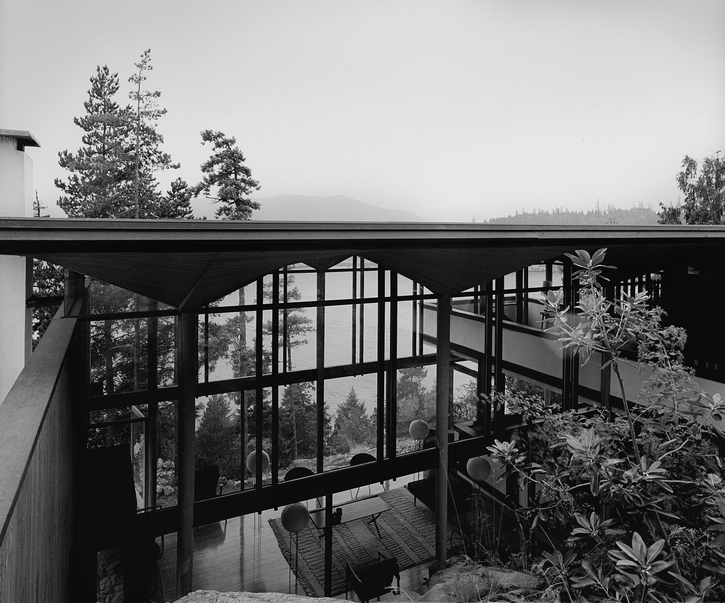 Beaton Residence, West Vancouver Arthur Müdry, Architect, 1965 Photograph by Selwyn Pullan, 1965 Courtesy of West Vancouver Museum.