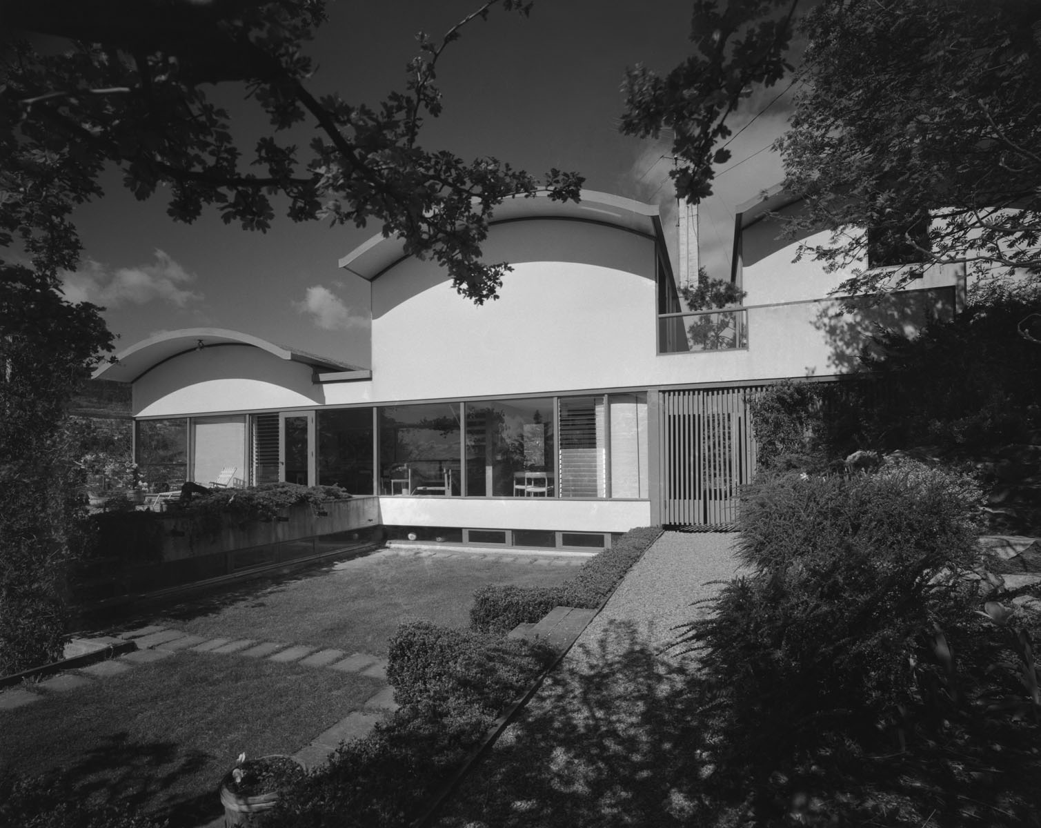 Gerson Residence, West Vancouver Wolfgang Gerson, Architect, 1958 Photograph by John Fulker, c. 1960 Courtesy of West Vancouver Museum.