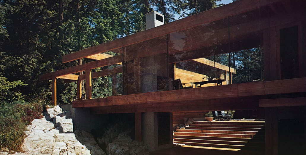 Smith House 2, Arthur Erickson with Geoffrey Massey, 1964. Photo courtesy of Arthur Erickson.