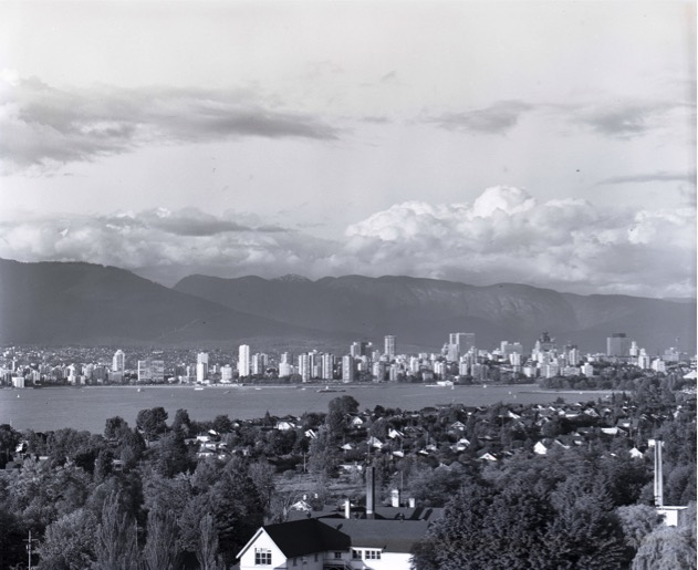 Vancouver c.1970. Photo by Fred Schiffer.