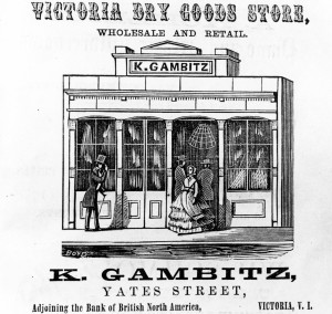 Advertisement for Kady Gambitz's store (L.00430)