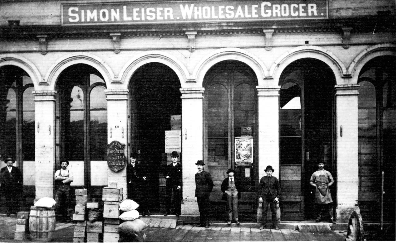 Simon Leiser's store in Victoria (A.05924)