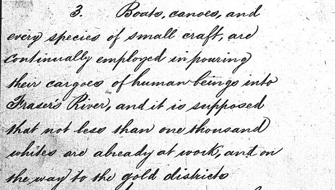 Letter written by James Douglas
