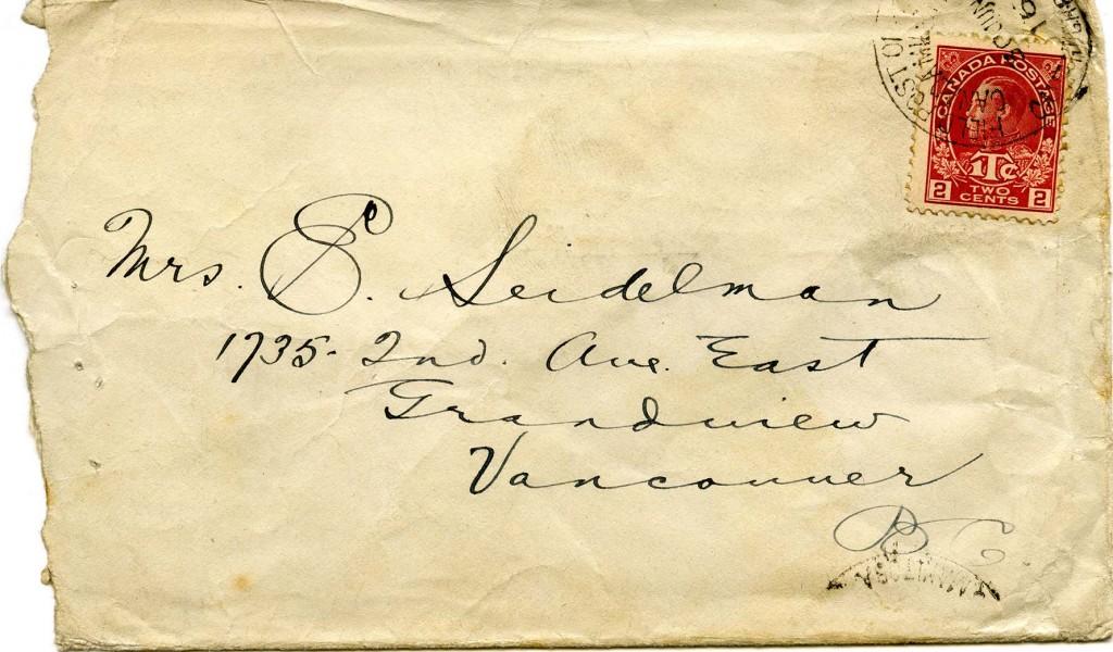 Letter B - Envelope