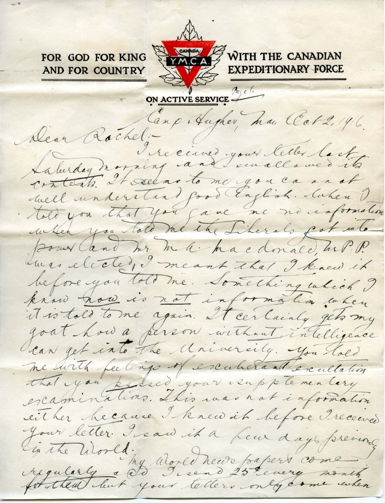 Click image to read the complete letter or the following link for the  full archival record.