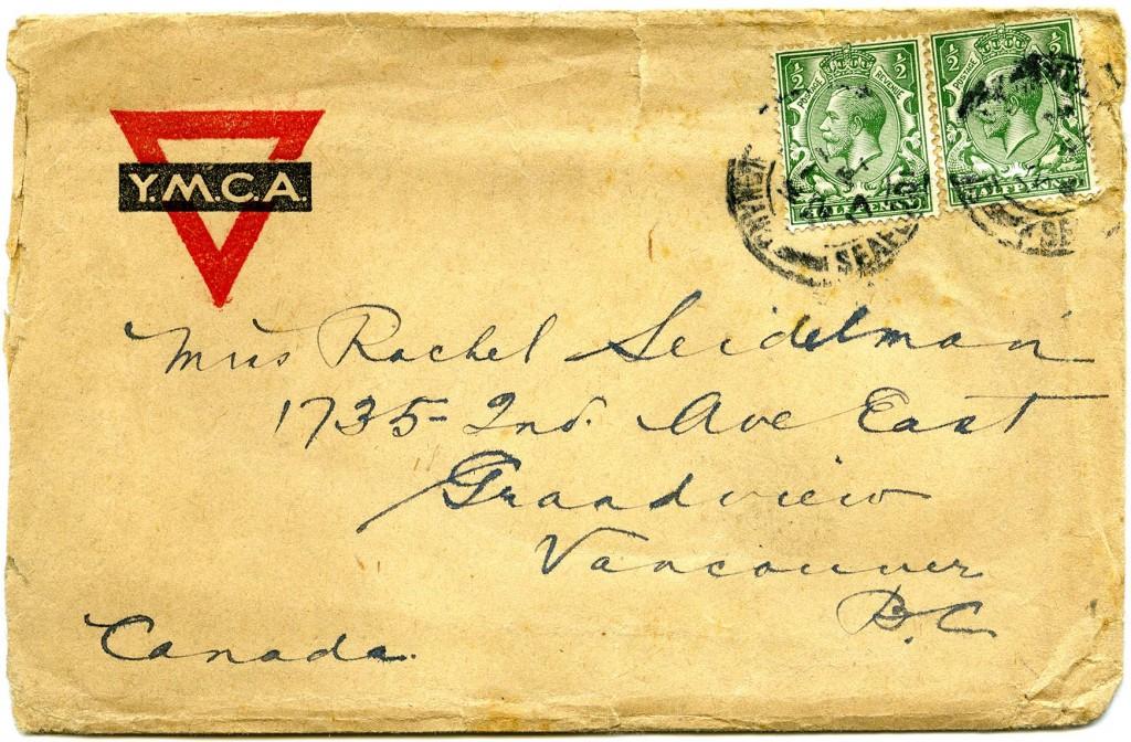 Letter J - Envelope