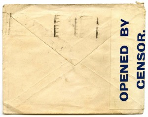 Letter L - Envelope Back