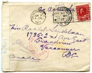 Letter L - Envelope Front