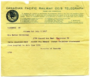 Click image to also see the accompanying envelope or the following link for the  full archival record.