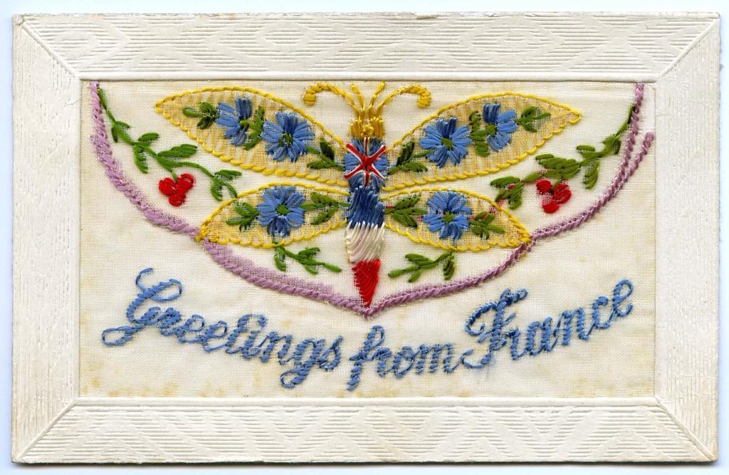 Letter R - Postcard