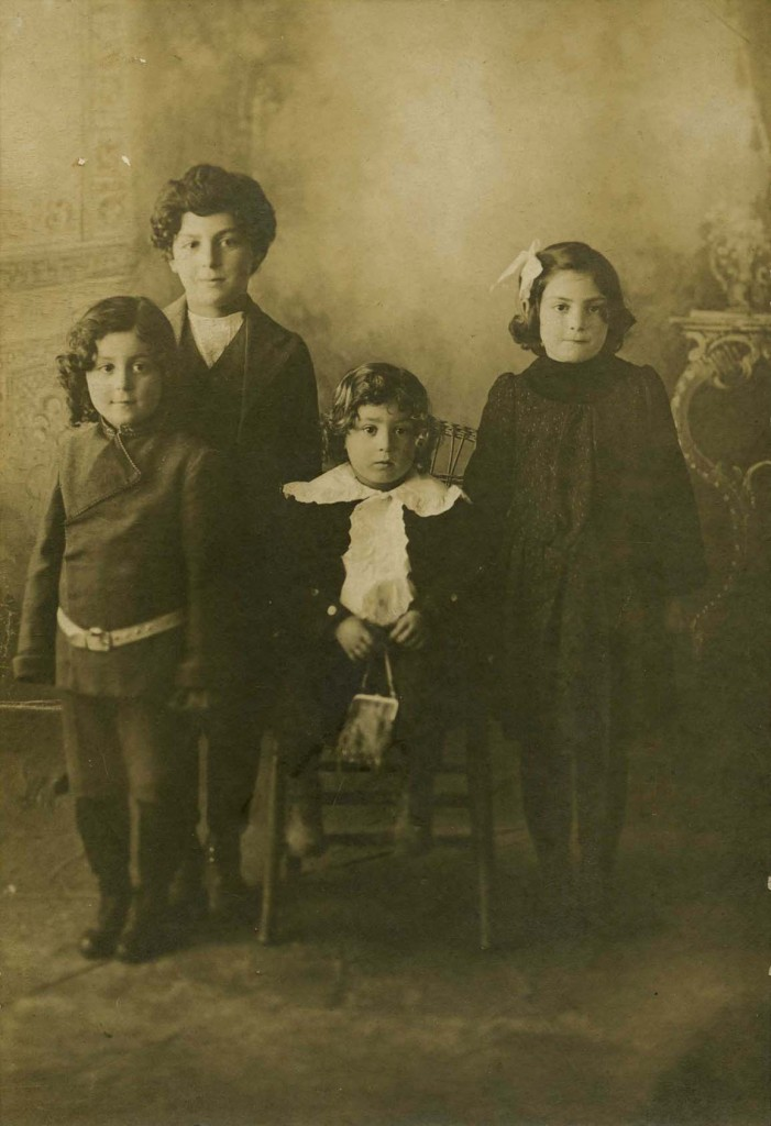 T - Four Seidelman Children Photo