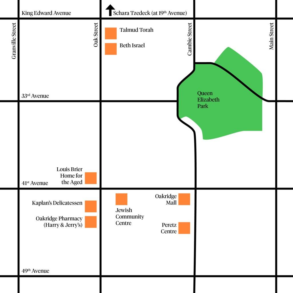 Oakridge Map