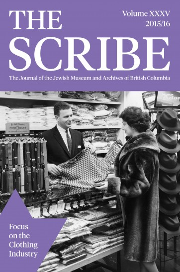 The Scribe Volume 35: Focus on the Clothing Industry