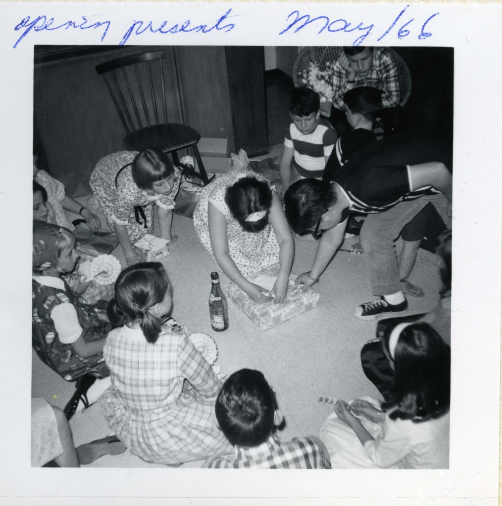 Opening presents, May 1966