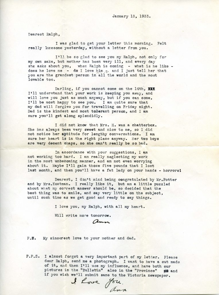 Letters Of Love And Laughter Jewish Museum Archives Of British