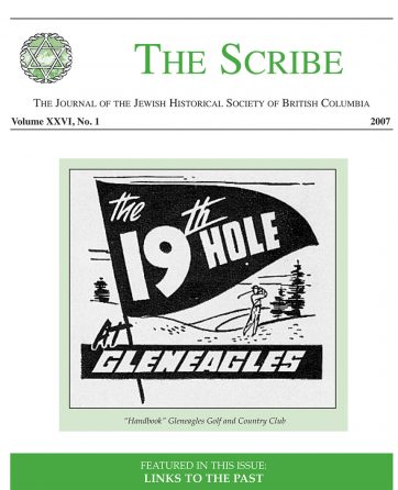 The Scribe Volume 26 Issue 1: Links to the Past