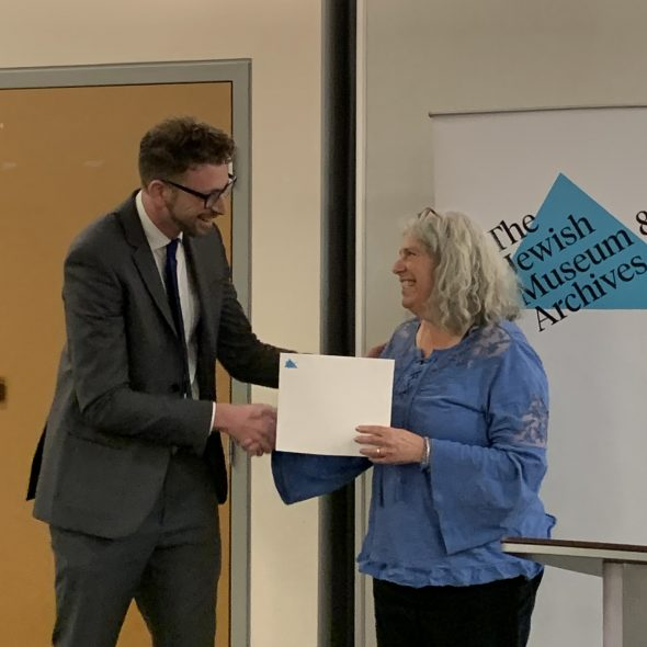 2019 BC Jewish History Research Prize Awarded!